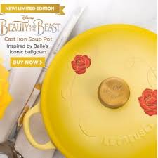 le creuset beauty and the beast when you wish upon a star you ll get a snow white le creuset
