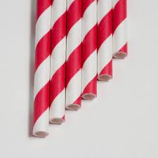 paper straws candy apple stripe 7 75 paper straws aardvark straws
