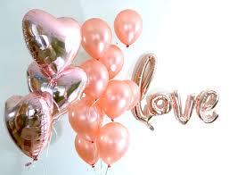 heart balloon bouquet gold balloon bouquet baby shower decorations