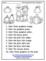 freebie following directions students will reading color