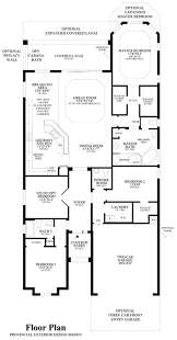 Versailles Floor Plan by Bonita Lakes Executive Collection The Massiano Home Design