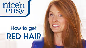 clairol nice n easy natural light auburn home hair colour tips how to dye your hair red nice n easy youtube