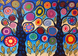 cinco de mayo color palettes for beading mexican folk art