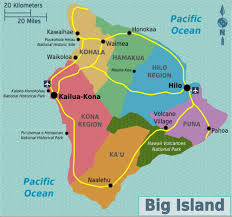 map of hawaii big island big island travel guide at wikivoyage
