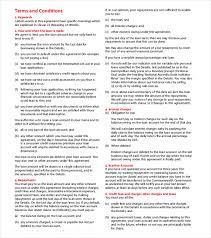 loan agreement template u2013 11 free word pdf documents download