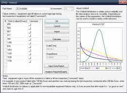 fracas report template weibull analysis software by sohar sohar service