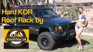 Smittybuilt Roof Rack by Jeep Cherokee Roof Rack Install By