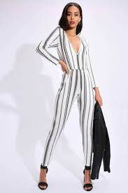 black and white jumpsuit for womens jumpsuits sleeve jumpsuits rompers isawitfirst