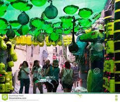 festival decorations gracia festival decorations in barcelon theme of toxic waste