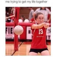 Volleyball Meme - volleyball jokes kappit hilarious pinterest volleyball jokes