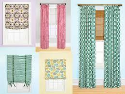 unique curtains short curtains square bedroom window mid century