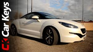peugeot sports car 2016 peugeot rcz 2013 review car keys youtube