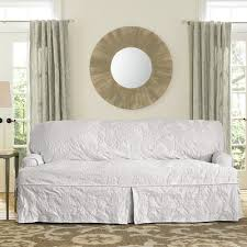Surefit Sofa Covers by Sure Fit Matelasse Damask Box Cushion Sofa Slipcover U0026 Reviews