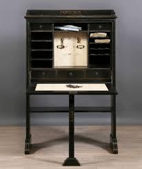 bureau stylé secrétaire bureau époque xixeme meuble de caractère patiné à l