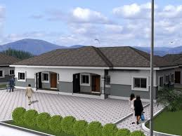 bungalow house designs awesome 4 bedroom bungalow plan in nigeria 4 bedroom bungalow