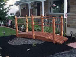yard bridge testimonials for handcrafted garden bridges