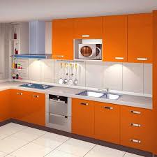autocollant pour armoire de cuisine kinlo 5m 0 61m papier peint auto adhésif orange pour armoire meuble