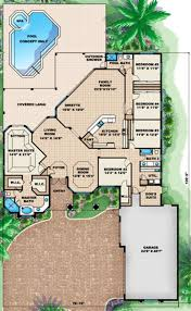 mediterranean style house plan 5 beds 3 00 baths 3447 sq ft plan