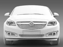 opel insignia 2015 opel insignia hatchback 2015 3d cgtrader