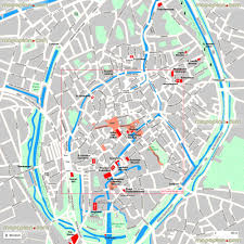 best tourist map of map of best locations bruges top tourist attractions map new zone