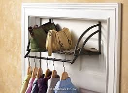 Over Door Closet Organizer - 14 best over door hangers shelves images on pinterest door