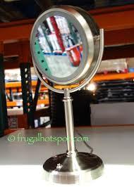 Costco Vanity Mirror With Lights Costco Sale Sunter Lighted Vanity Mirror 14 99 Frugal Hotspot