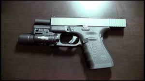 best laser light for glock 17 surefire x300 for glock 19 gen 4 initial impression youtube