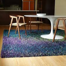 Peacock Blue Rug Shag Area Rug Peacock Blue Teal Green Purple Multi Color Deep Pile