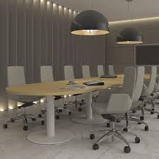 Designer Boardroom Tables Contemporary Boardroom Table Wood Veneer Metal Rectangular