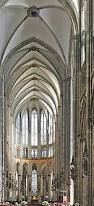 Cologne Cathedral Interior World Cruise Port Cologne Germany