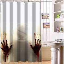 online get cheap walking dead shower curtain aliexpress com