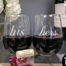 his hers wine glasses 52 best wine glasses for the winos images on tie