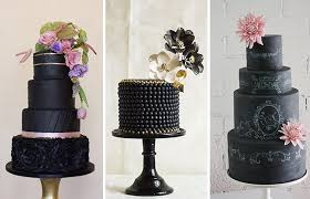 different wedding cakes boldly different black wedding cakes onefabday