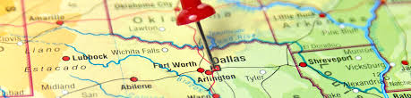 Map Dallas Fort Worth by Full Service Texas Charter Bus Rental Echo Transportation