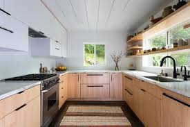 wood kitchen cabinets with white countertops best 60 modern kitchen white cabinets hardwood floors