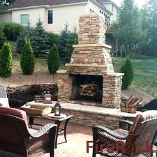 Stone Fireplace Kits Outdoor - outdoor stone fireplace kits price patio fireplaces age uk