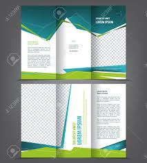 fold brochure template vector tri fold brochure template design concept business trifold