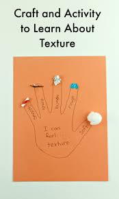 sensory activity for children to learn about texture living off
