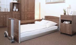 Low Height Bed Frame Homecare Bed Electric Ultra Low Height Adjustable Practico