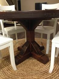 Round Rustic Dining Table Kitchen Table Sweetness Rustic Round Kitchen Table Round