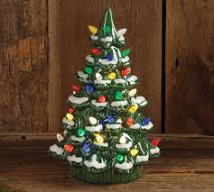 porcelain christmas tree with lights lighted porcelain christmas tree