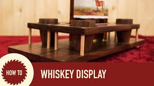 making a whiskey and shot glass display youtube