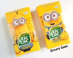 where to buy minion tic tacs grocery gems review limited edition tic tac minions banana flavour