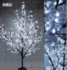 outdoor lighted cherry blossom tree 1 5m 5ft height outdoor artificial christmas tree led cherry blossom