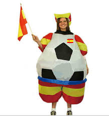new carnival spain inflatable football halloween costumes for