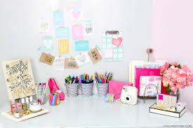Desk Decor Diy Overview Of My Diy Desk Area Diy Desk Organization Tips The