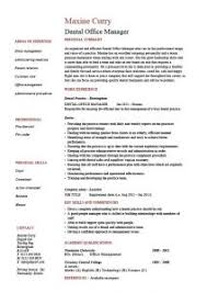 Sample Dental Office Manager Resume by Work Experience Resume Sample Resume Samples