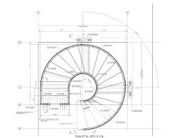 circular stair 101 warren street new york ny plan escaliers