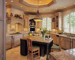 kitchen island decorating ideas floor to ceiling windows red