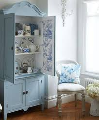 painted blue u0026 white hutch pictures photos and images for